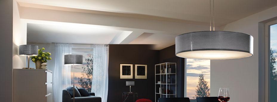 Pendelleuchte höhenverstellbar ROMAO im Wohnraum