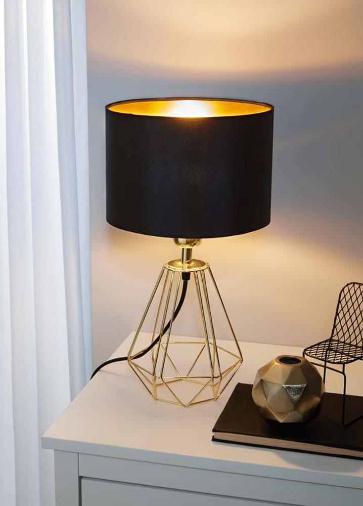 binnenverlichting tafellampen van stof