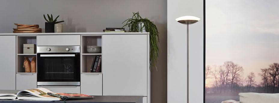 Stehlampe Design FRATTINA-C im Wohnbereich 97814