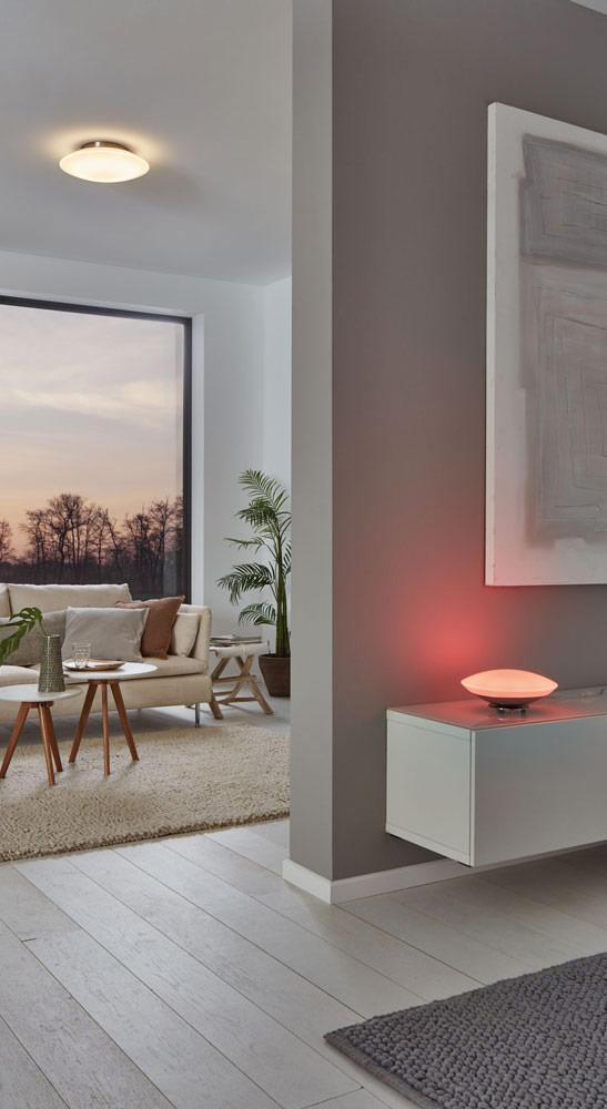 Innenleuchten Smart Lights im Wohnzimmer