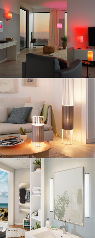 Lampen die een lichte kleur produceren