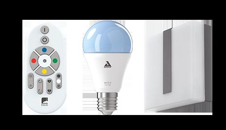 Außenleuchten Smart Home Lampe mit Fernbedienung und Smartphone App