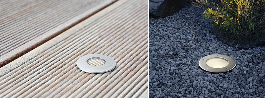 Außenleuchten Außenstrahler LED Strahler im Boden eingebaut