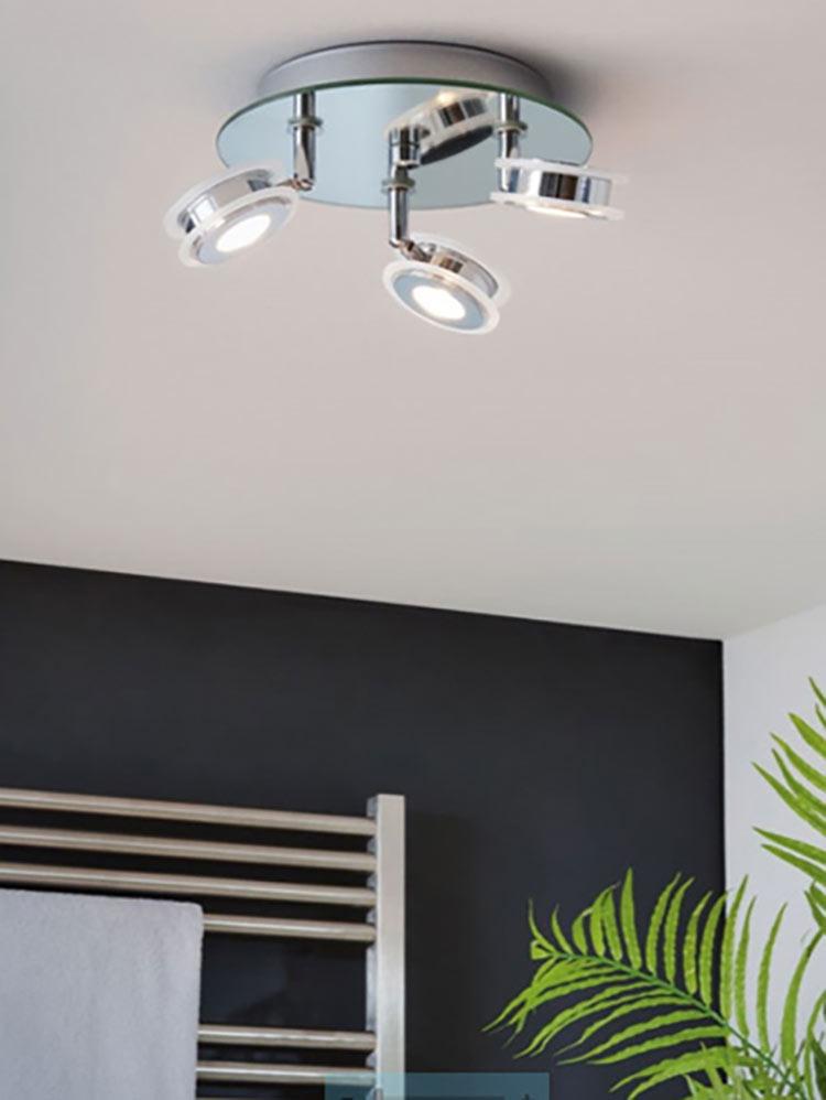 woonruimtes badkamer plafondlamp