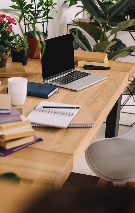woonruimtes goede verlichting op kantoor
