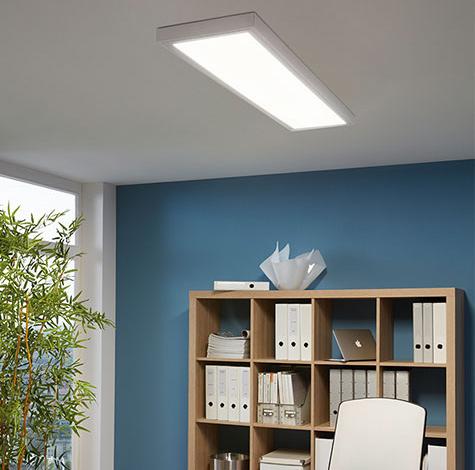 Räume Bürolampen LED Bürobeleuchtung an der Decke