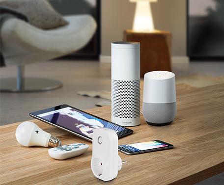 Zubehör Lampenzubehör Google Home und Amazon Echo