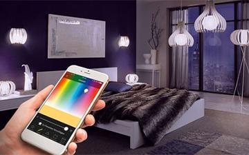 Wohnmagazin Smart Light mit EGLO connect