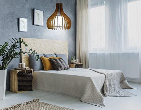 TINDORI Deckenlampe Schlafzimmer