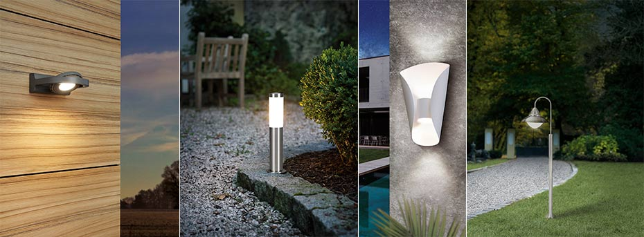 buitenlamp plafondlamp bijvoorbeeld, verschillende varianten voor buiten