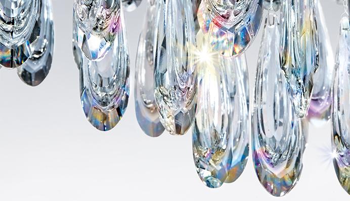 Plafoniere in cristallo