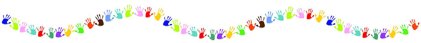 woonruimtes kinderkamerverlichting kleurrijke kinderhanden