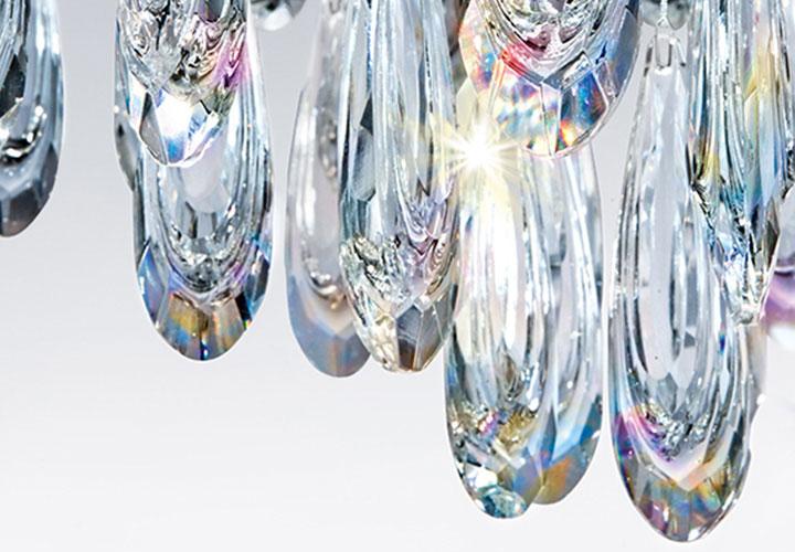 Crystal luminaires