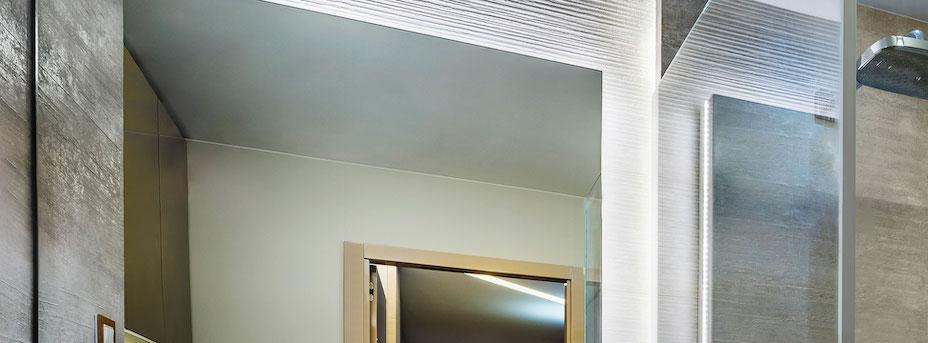 LED Streifen im Badezimmer