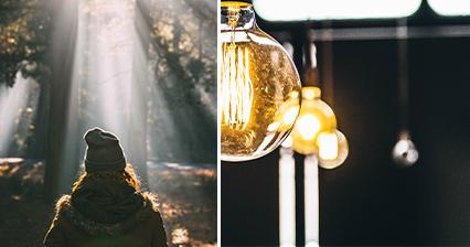 Wohnmagazin - Licht-Wissen Lumen und Watt