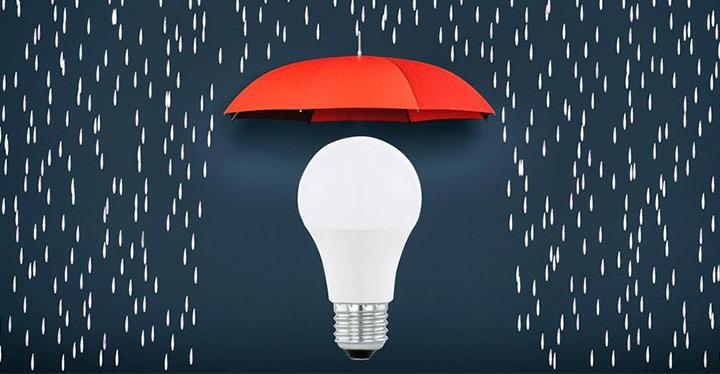 Leuchtenkauf Glühbirne Schirm