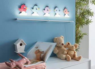 Child bedroom lamps