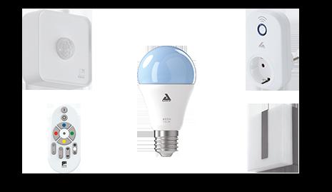 Außenleuchten Smart Home mit Amazon Echo und Google Home