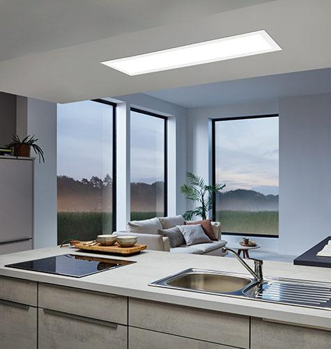 Räume Arbeitsbeleuchtung in der Küche