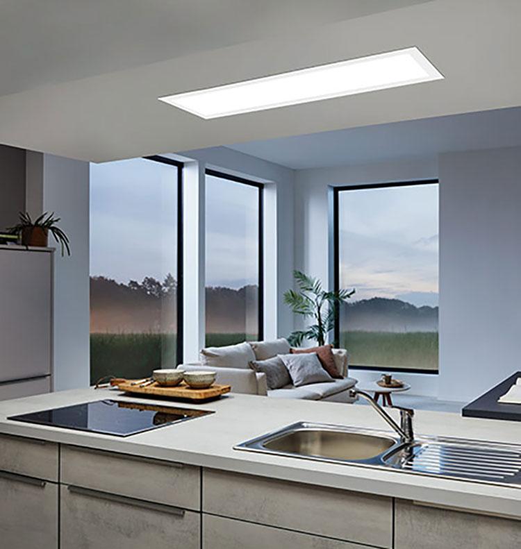 woonruimtes werkverlichting in de keuken
