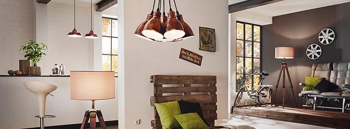 verlichting voor verschillende kamers