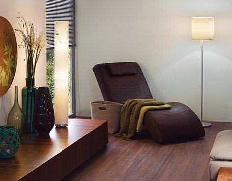 Räume Schlafzimmerlampen Stehlampe im Schlafzimmer
