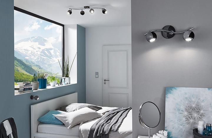 Räume Schlafzimmerlampen richtig gewählt