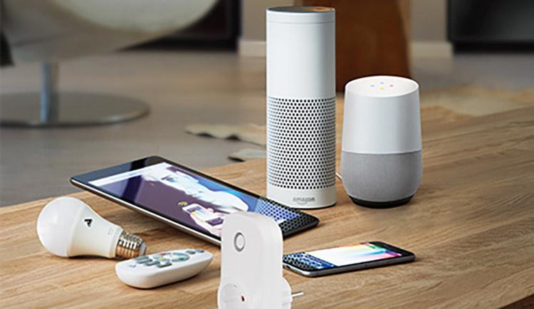 smart home controle-opties voor buitenverlichting