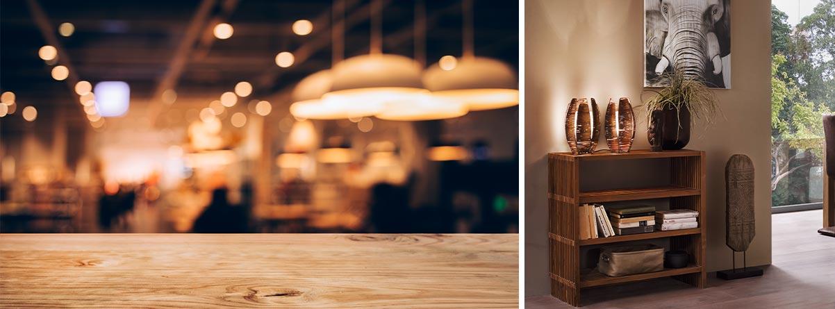Holzlampen: natürlich und modern