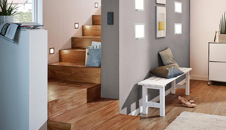 woonruimtes trappenhuisverlichting