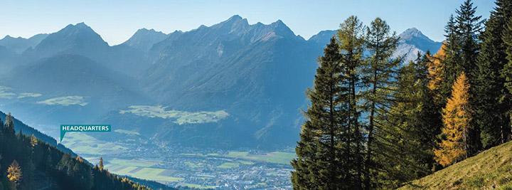 EGLO Leuchten GmbH, Headquater Pill in Tirol, Austria