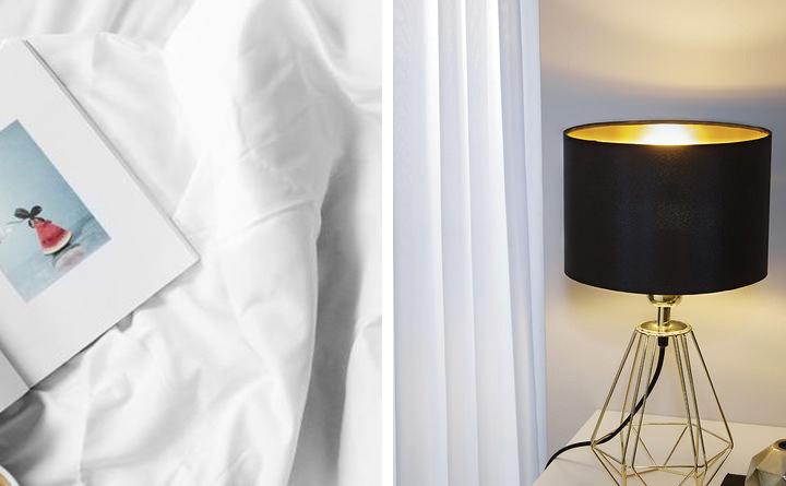 Schlafzimmer: Nachttischlampe Carlton 2
